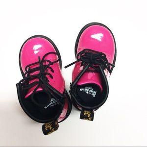 Dr. Martens Shoes - Dr. Marten Hot Pink Boots Sz 5 toddler